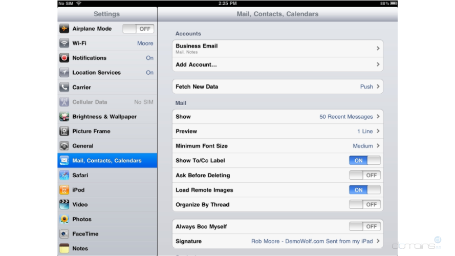 how to setup a windows live mail account on iphone